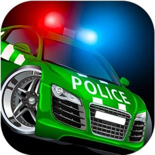 Cool cop car games free for kids: Highway simulator app