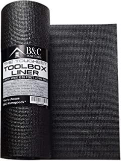 Professional Tool Box Liner and Drawer Liner – Black Non-Slip Shelf Liner Is..