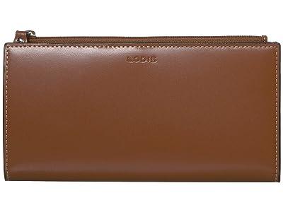 Lodis Accessories Audrey Kinsley Wallet (Sequoia/ Papaya) Handbags