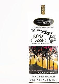 Hawaiian Isles Kona Coffee 10 oz Each (2 Items Per Order, not per case)