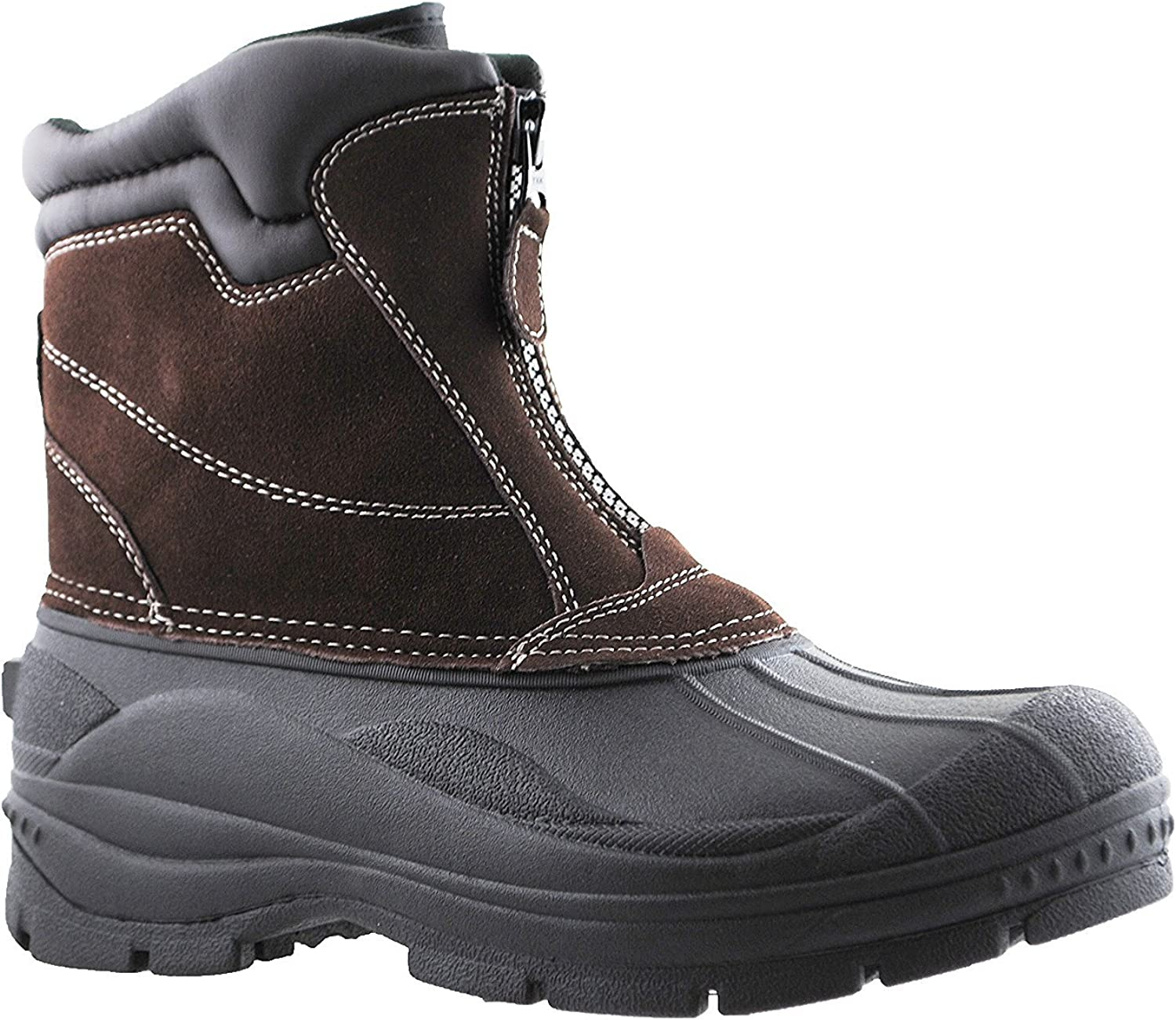 Totes Mens Mesa Mall Cold Weather Boots Front Closure Tornado Zipper with Max 69% OFF