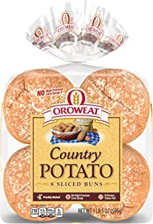 Oroweat, Country Potato Hamburger Buns, 8 ct, 21 oz