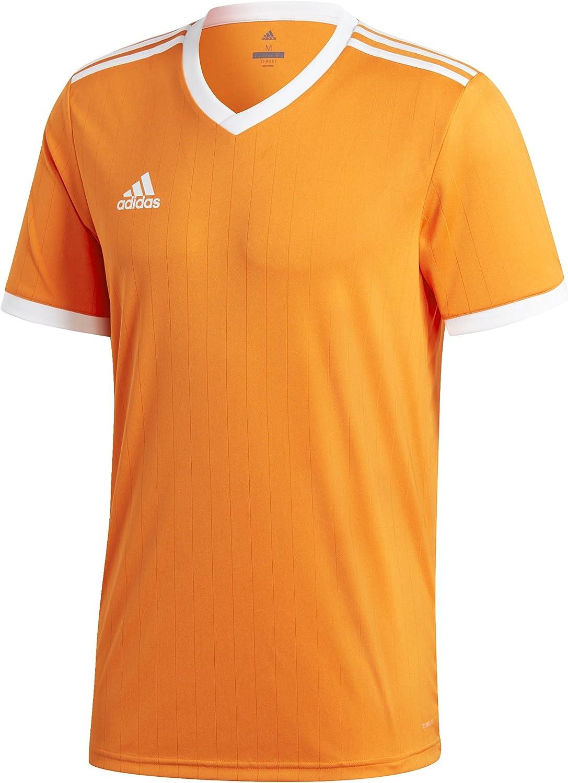 Amazon.com: adidas Tabela 18 Jersey - Men's Soccer S Orange/White ...