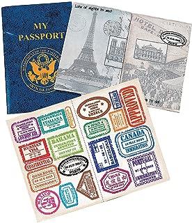 Fun Express - Passport Sticker Book - Stationery - Activity Books - Activity Books - 12 Pieces