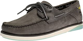 Timberland TB0A2ABVF131 Atlantis BRK Boat Chaussures bateau pour homme Gris