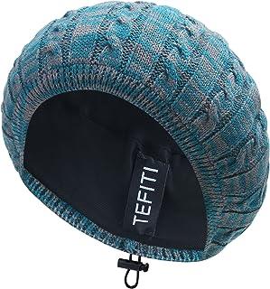 TEFITI Womens Snood Hairnet Headcover Knit Beret Beanie Cap Headscarves Turban-Cancer Headwear for Women