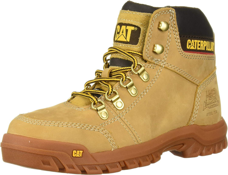Caterpillar Men's Outline Steel Toe Construction Boot