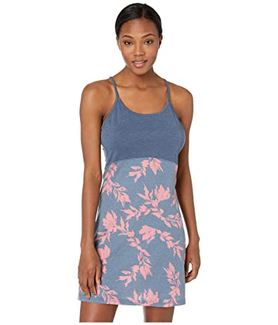 tentree Leafy Shore Dress (Dark Denim) Women