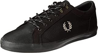 Fred Perry Baseline, Men's Shoes, Black, 8 UK (42 EU)