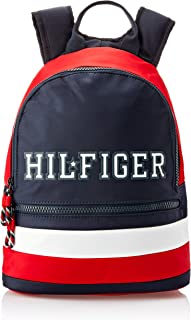 Tommy Hilfiger Boys Kids' Colour-Blocked Signature Backpack, Colour Block