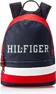 Tommy Hilfiger Boys Kids' Colour-Blocked Signature Backpack, Colour Block