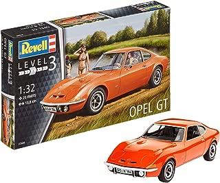 Revell- Maqueta Opel GT, Kit Modelo, Escala 1:32 (7680)(07680), 13,8 cm de Largo (
