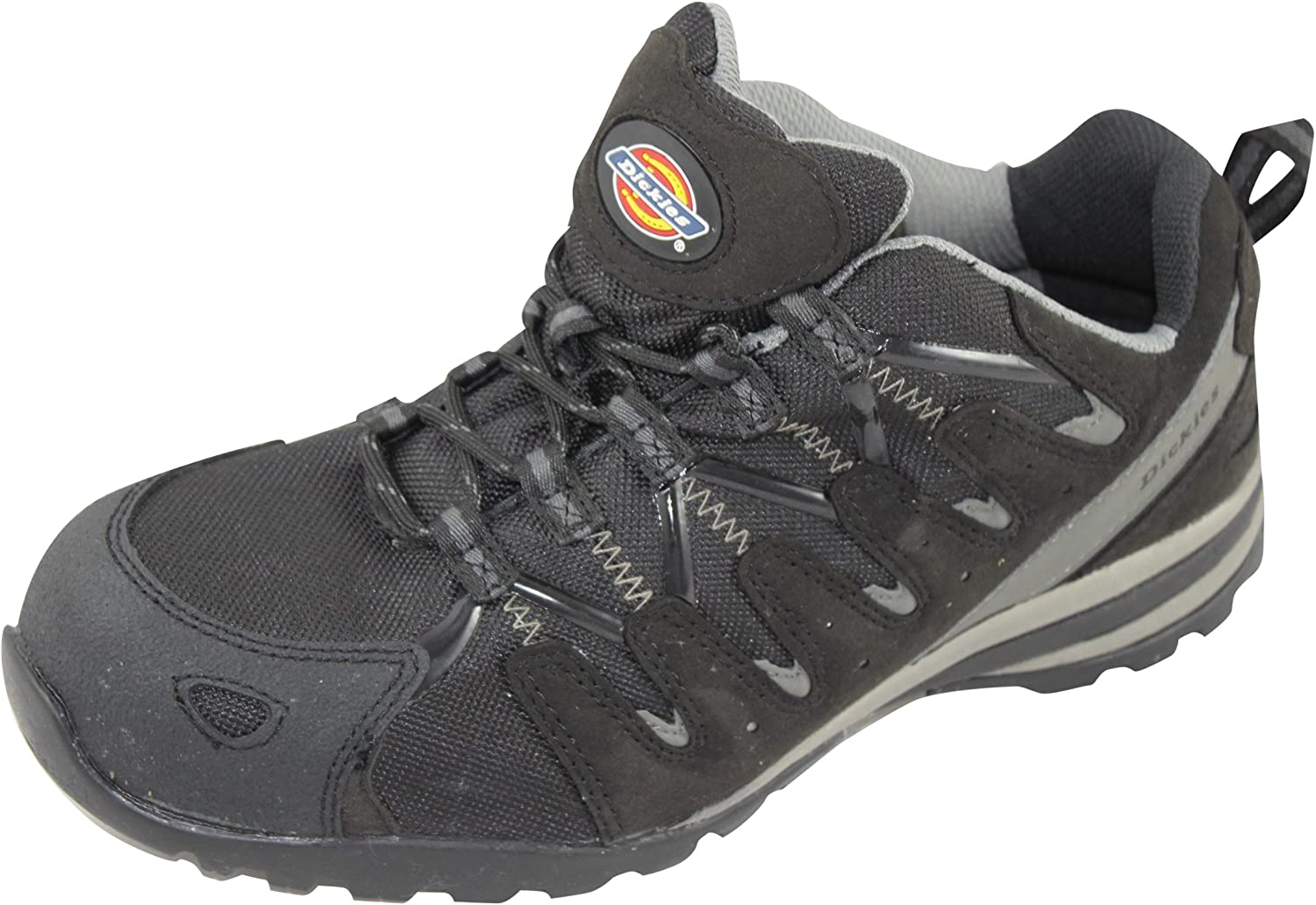 Dickies Tiber Safety Trainers Black Composite Midsole and Toecap