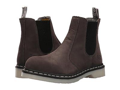 Dr. Martens Work Arbor Steel Toe Chelsea Boot (Grey) Women