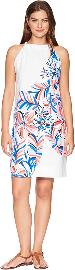 Le Tigre Floral Halter Dress