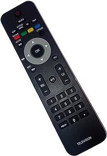 Replaced Remote Control Compatible for Philips 19MF337B/27 32PFL3403D/F7 40PFL3705DF7 42PFL533237 46PFL3706F7 52PFL7422D/3...