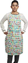 Amazon Brand - Solimo 100% Cotton Adjustable Kitchen Apron, Dashes (Multicolour)