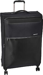 حقيبة امتعة بجانب صلب وعجلات دوارة للجنسين من سامسونايت، باللون الاسود - طراز 72H Dlx 78
