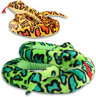 XL peluche super doux Serpent