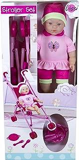 Lissi Doll Umbrella Stroller Set with 16