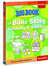 Big Book of Bible Story Coloring Activities for Elementary Kids (Big Books)