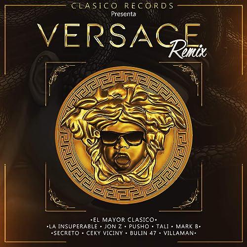 Amazon.com: Versace [Explicit] (Remix): Pusho & Ceky Viciny ...