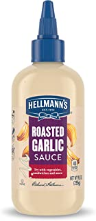 Hellmann's Sauce For A Delicious Condiment, Dip and Dressing Roasted Garlic Gluten Free, Dairy Free, No Artificial Flavors...