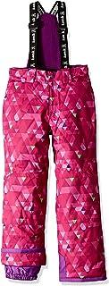 Kamik Winter Apparel Harper Freefall Pants, Pink/Peppermint, 10
