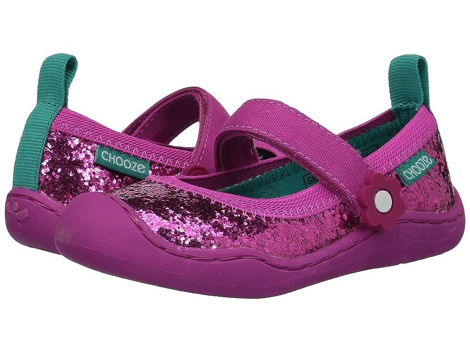 CHOOZE Steady Glow (Toddler/Little Kid) (Tulip) Girls Shoes