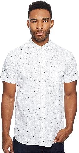 Ben Sherman - Short Sleeve Park Conversational Shirt