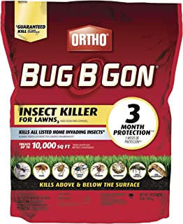 Ortho Bug B Gon Insect Killer for Lawns3. - Kills Ants, Fleas, Ticks, Chinch Bugs, Mole Crickets and Cutworms - Use on Lawns, Ornamentals and Home Perimeter