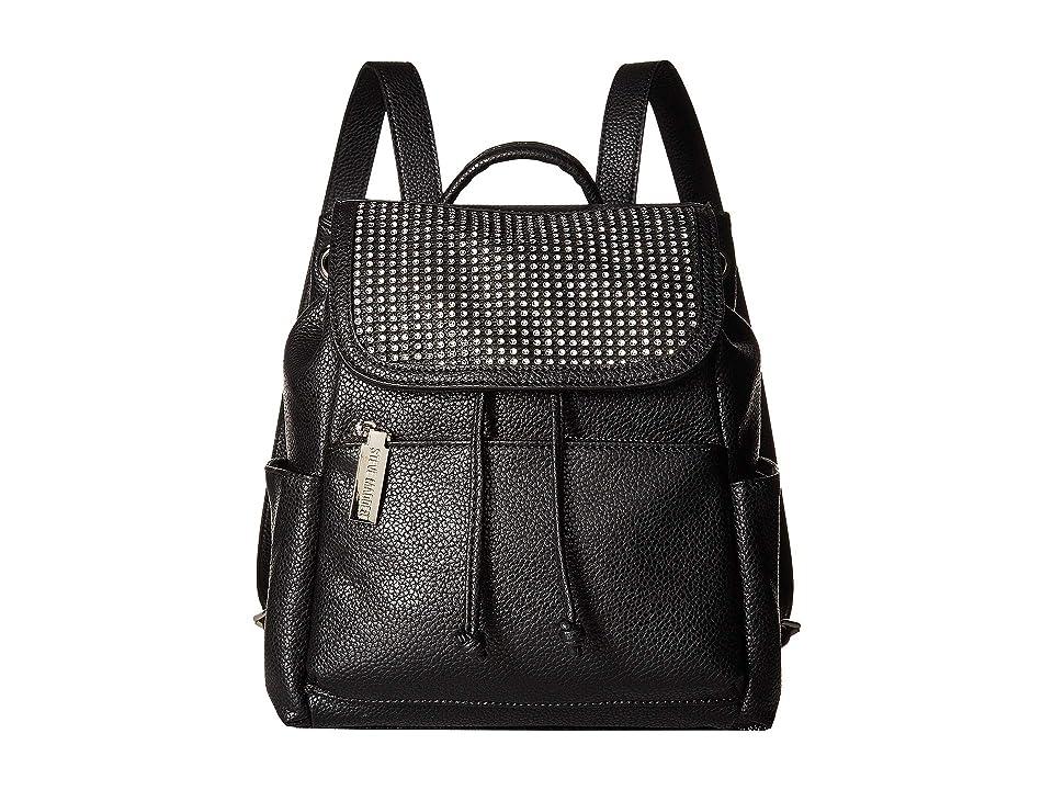 Steve Madden Btran-Rhinestone Backpack (Black) Backpack Bags