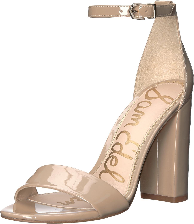 Sam Sam Sam Edelman Woherren Yaro Heeled Sandal, Classic Nude Patent, 8 M US  a50a8c
