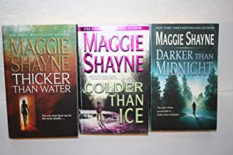 Maggie Shayne's Mordecai Young complete 3-book series[[1. Thicker Than Water (2003) 2. Colder Than Ice (2004) 3. Darker Th...