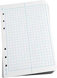 "Rite in the Rain All-Weather Loose Leaf Paper, 4 5/8"" x 7"", 32# White, Field Pattern, 100 Sheet Pack (No. 352)"