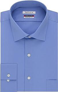 Men's Dress Shirt Flex Regular Fit Solid