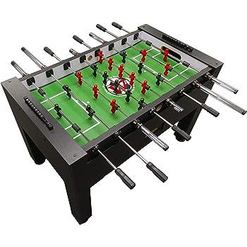 Warrior Table Soccer Pro Foosball Table 2020 Model 56 Inch Black