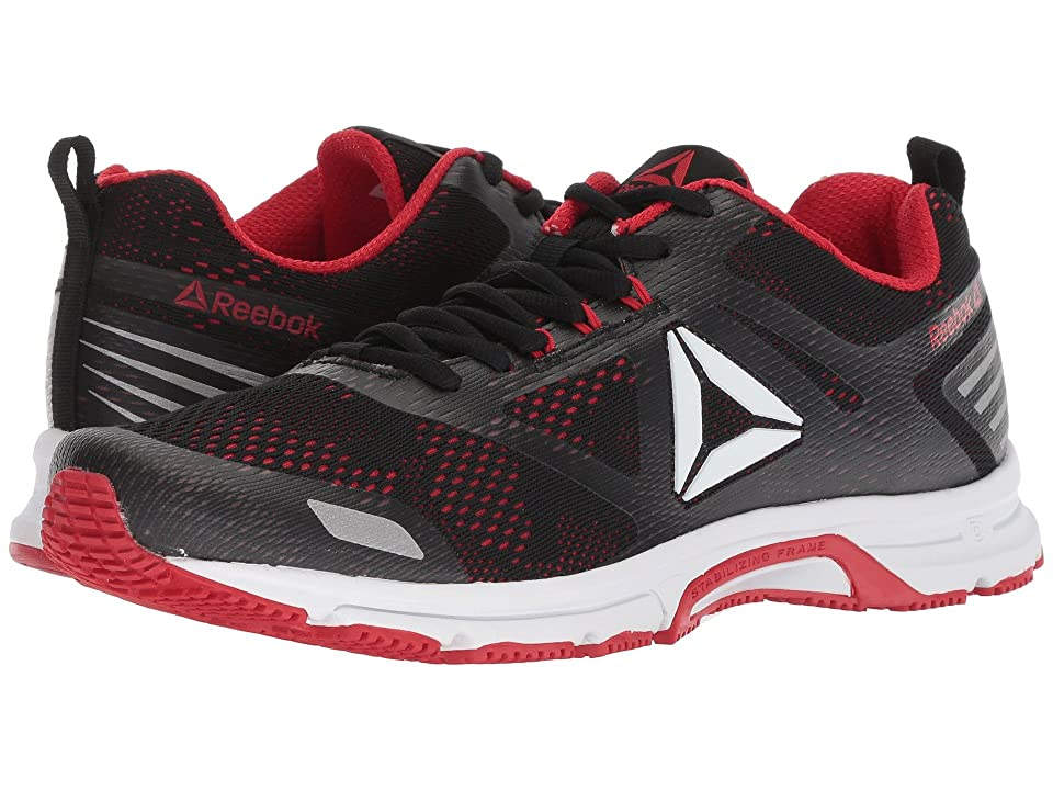 7a5f7fa10e04 Reebok Ahary Runner (White Black Primal Red 1) Men s Shoes