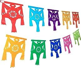 Muunek Pinata Banner Mexican Party Fiesta Mexicana Papel Picado Posada Decoration