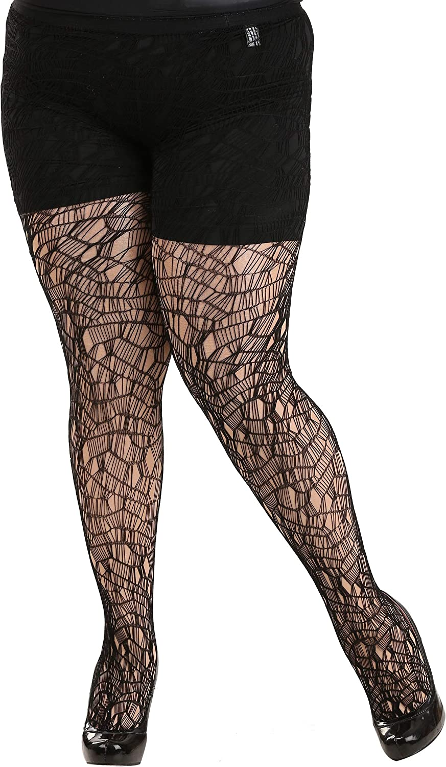 Seeing Red Adult Ripped Tights Size O/S Includes Tights