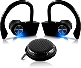 True Wireless EARBUDS Totally Truly Bluetooth 5 Power Pro Sports Beats Noise Cancel Isolation Waterproof IPX7 Black Grey