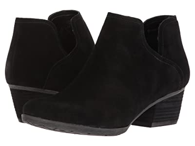 Blondo Victoria Waterproof (Black Suede) Women