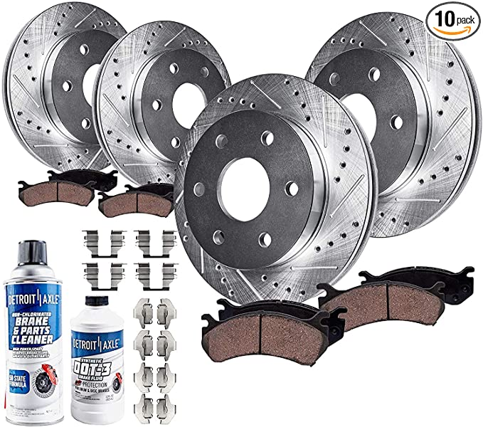 Rotors Performance Grade for 2008-11 Ford Focus 10.83 275mm ...