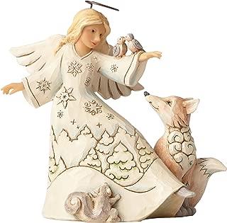Jim Shore Heartwood Creek JS HWC Fig Wdlnd Angel/Animals Figurine