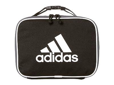 adidas Kids Foundation Lunch Bag (Little Kids/Big Kids) (Black/White) Bags
