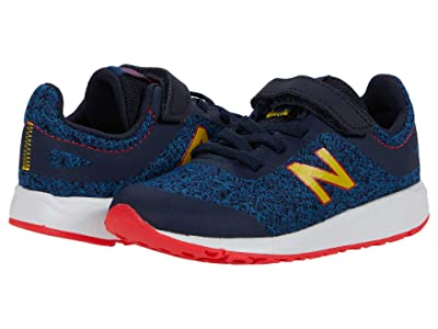 New Balance Kids 455v2 (Infant/Toddler) (Rogue Wave/Energy Red) Girls Shoes