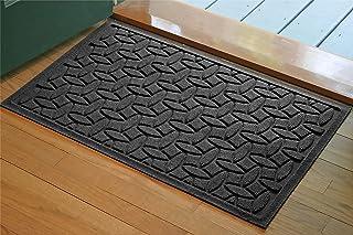 Bungalow Flooring Waterhog Door Mat, 2' x 3' Made in USA, Durable and Decorative Floor Covering, Skid Resistant, Indoor/Ou...