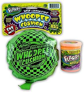 JA-RU Whoopee Cushion Self Inflating and Flarp Noise Putty Combo Item #327-41 E18