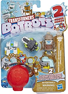 Transformers Botbots Toys Bakery Bytes Mystery 5 Pack Series 1 -- Collectible Color Change Figures!