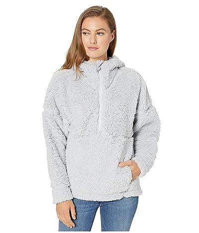 Prana Permafrost 1/2 Zip Hoodie (Silver Spray) Women